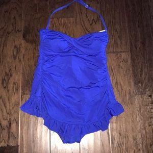 Jantzen royal blue one piece. Perfect condition